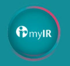 Change of myIR online sesrvices